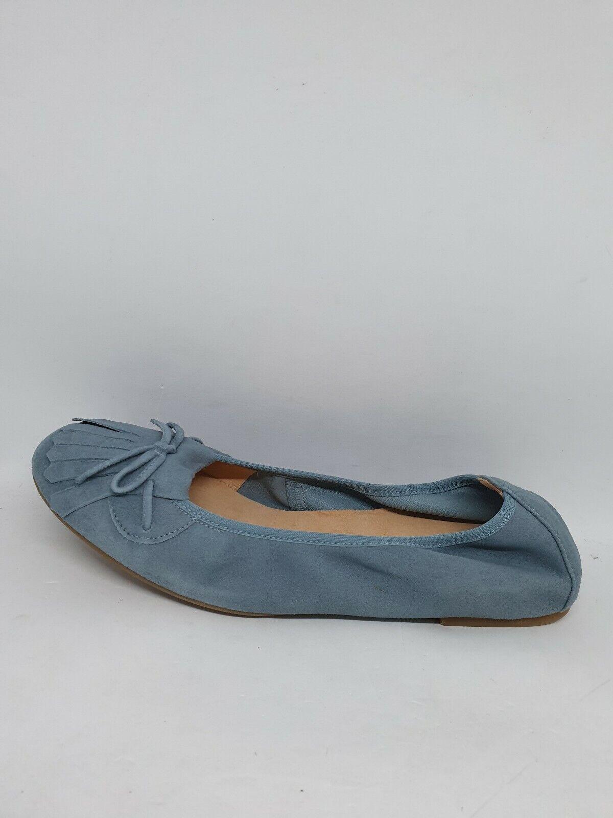 UNISA Damen Ballerina Blau Mod. Ayele Leder Gr.38 Neu