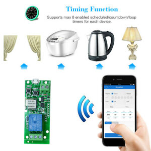 SONOFF-1CH-DC5V-WiFi-Wireless-Switch-Inching-Self-Locking-Smart-Relay-Module-Hot