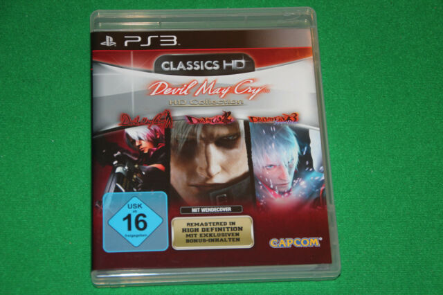 Devil May Cry HD Collection Trilogy ps3 playstation 3