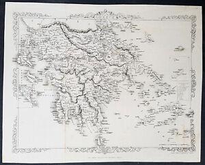 1860-John-Rapkin-Large-Antique-Map-of-Greece-22240