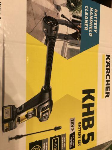 Karcher KHB 5 Multi Jet 18 V batterie Li-Ion Handheld Cleaner Set 1.328-103.0