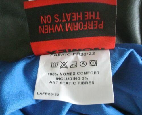 Fiel Azul Real Nomex Retardante de fuego llama inherentemente Boilersuit nórdico