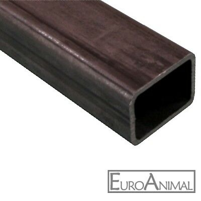 Rechteckrohr Stahl 180x80x5  Länge: 500mm bis 3x2000mm Vierkant Rohr Hohlprofil
