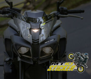 Image Is Loading NEW Yamaha MT 10 Headlight Stickers Decals Mt10