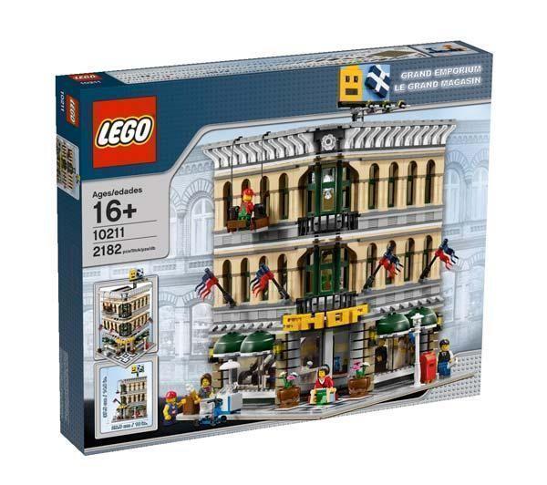 NIB LEGO Creator Grand Emporium  10211  SHIPS INTERNATIONALLY  MINT BOX -Last On