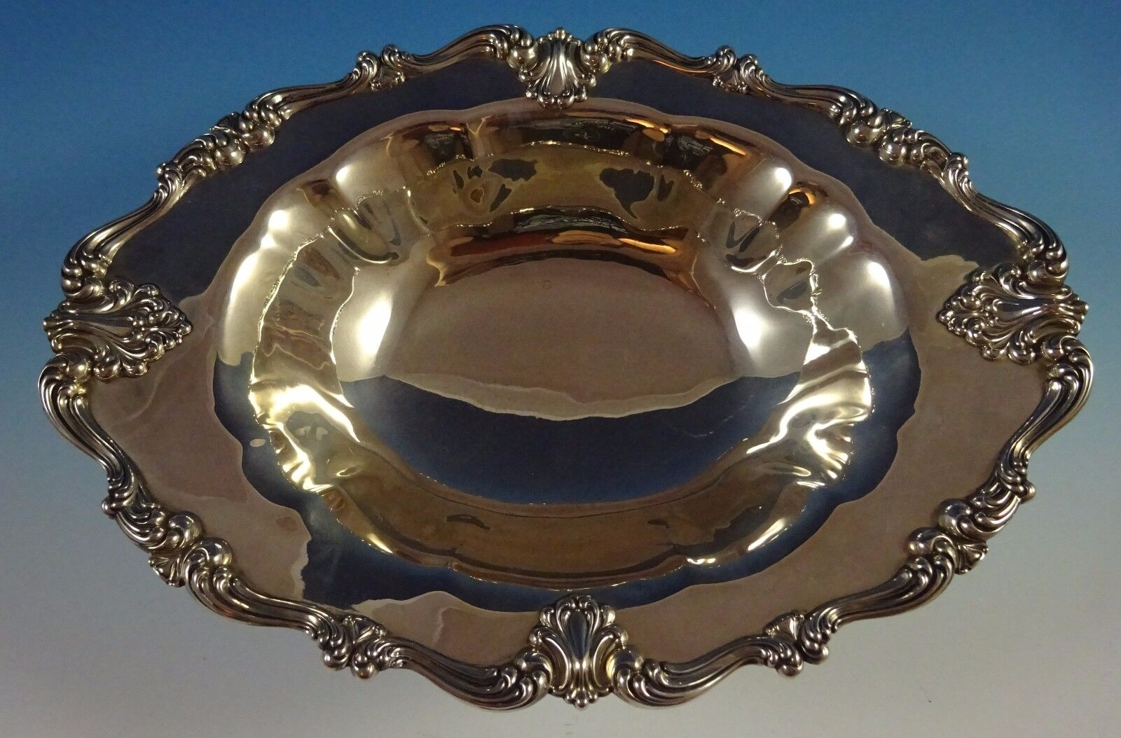 Victoria Aka Florence par Frank Whiting Argent Sterling Centerpiece Bol ( 1271)