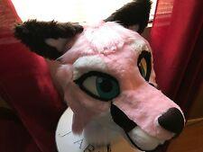 Fursuit My beautiful Pink Fox partial.