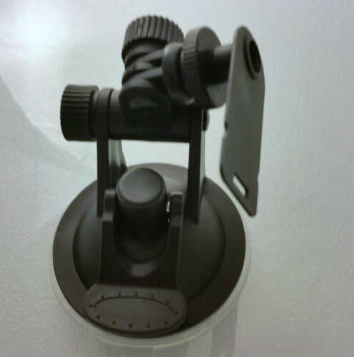 2 Axis PVT-C Cobra Radar Detector Windshield Mount Large Suction Cup New