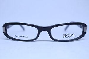 3abbf70c0f7 Image is loading Hugo-Boss-0151-ANS-Eyeglasses-Frames-Black-51-