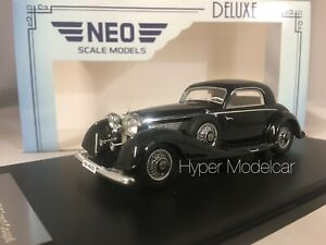 NEO SCALE MODELS 1/43 MERCEDES-BENZ 500/540K COUPE' BLACK ART.NEO46167