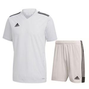 Adidas Football Soccer Kids Boys Sport Training Kit/Set SS Jersey ...
