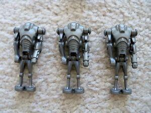 LEGO-Star-Wars-3-Rare-Cannon-Armed-Super-Battle-Droids-Excellent
