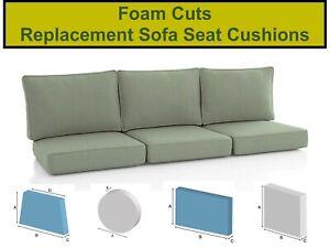 Cuscini del divano/letti/all' aperto Posti a Sedere Schiuma tagliata a qualsiasi dimensione/forma/SPESSORE