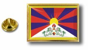 pins-pin-badge-pin-039-s-metal-avec-pince-papillon-drapeau-tibet-tibetain