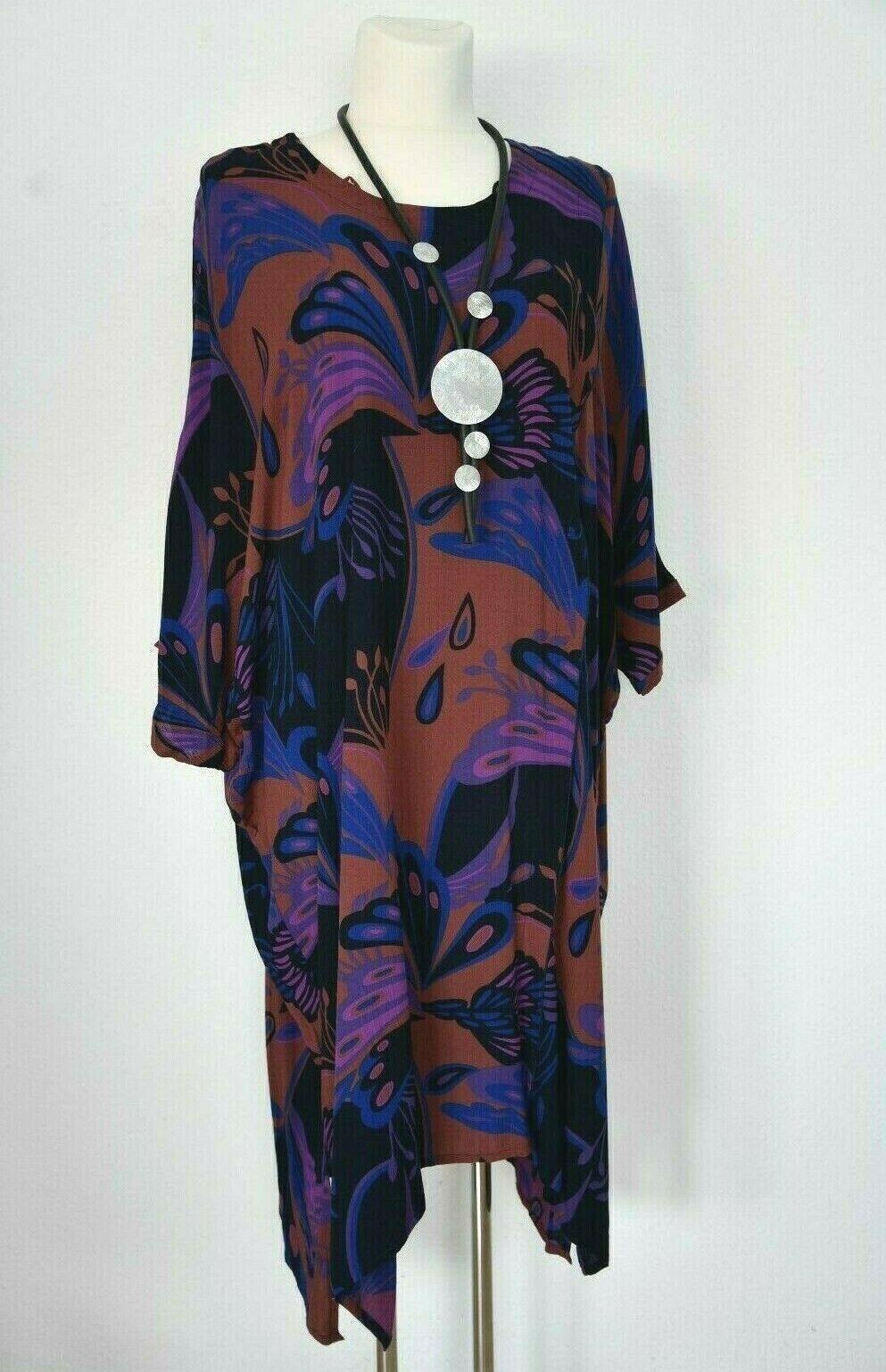 Damen Lagenlook Sommer Kleid Tunika -Campur- Gr. XL Neu
