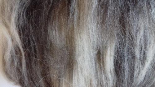 Fumisterie Mélangé Laine cardée Batt 10-100 g naturel non teint UK Laine Feutre ou Spin Fibre