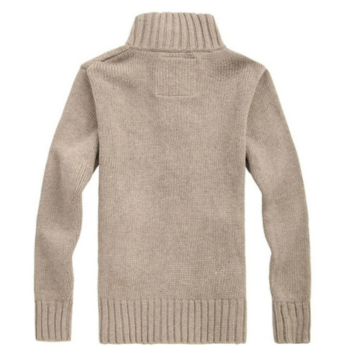 Men/'s Warm Button Sweater Knitted Cardigan Winter Coat Jacket Outerwear Knitwear
