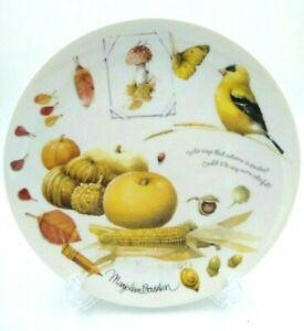 """1995 Retired Hallmark """"Autumn Splendor"""" Collector's Plate Marjolein Bastin"""