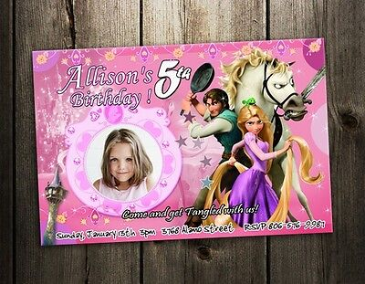 Rapunzel Birthday Cards collection on eBay