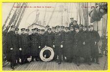 cpa ANVERS ÉQUIPAGE (Cadets) PROFESSEUR du NAVIRE ÉCOLE COMTE de SMET de NAEYER