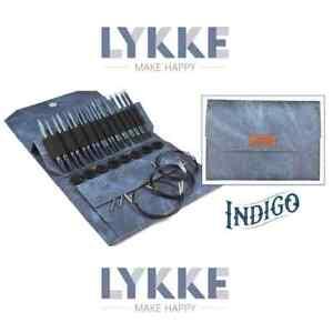 Lykke Indigo Driftwood Interchangeable Gift Set in Indigo Denim Pouch