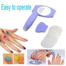 nail printing machine  Art stamper DIY Manicure nail stamping plates polish kit
