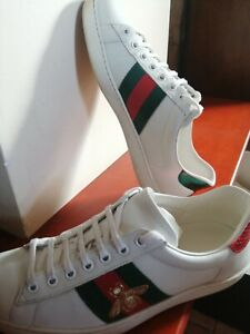 Gucci men's ace bee sneakers
