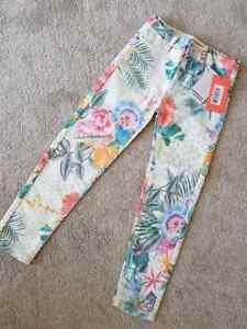 New-Girls-Designer-Angel-amp-Rocket-Sold-Next-Tropical-Skinny-Jeans-3-10-Years