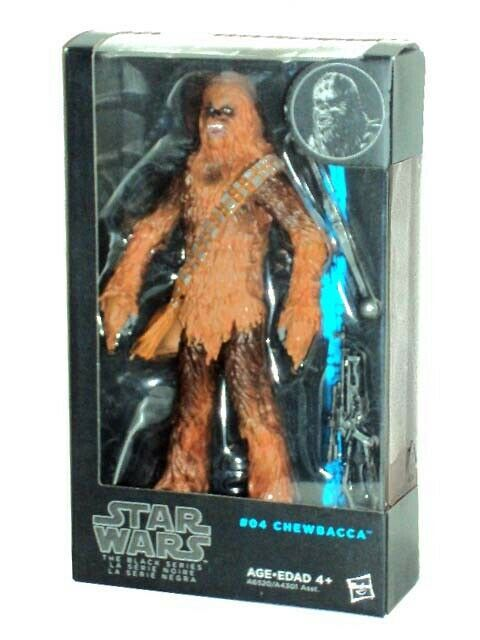 STAR WARS schwarz Series CHEWBACCA the WOOKIEE 6  Action Figure  04 SEALED UK