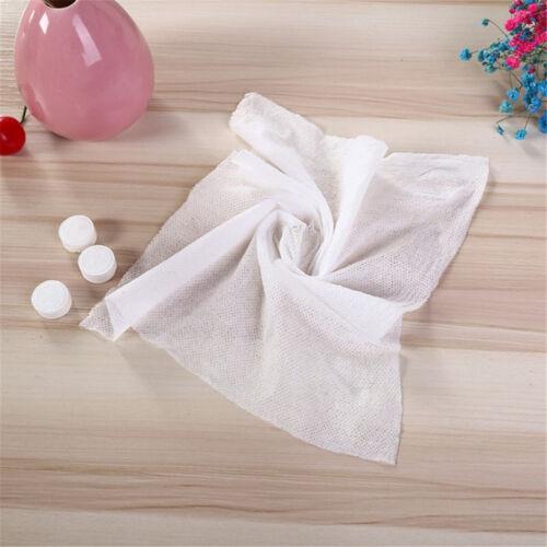 5//50PCS Outdoor Travel Disposable Magic Mini Non woven Fabric Compressed Towel