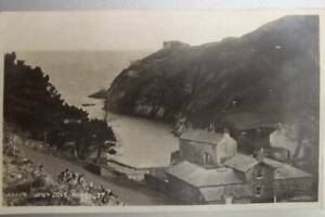 OLD-POSTCARD-FOWEY-READY-MONEY-COVE-UNUSED