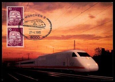 Gelernt Brd Mk 1985 847 Eisenbahn Train Railway Maximumkarte Maximum Card Mc Cm M940 Verkaufspreis