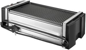 6-serving removable plate grill silver | george foreman.