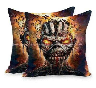 Iron Maiden cushion cover decorative throw pillow cases