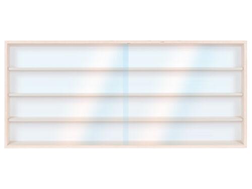 90 cm 8 fois HO vitrine avec rainures pour piste h0 Märklin droit partie e42ar
