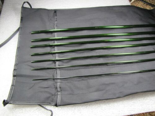 CRH Graphite 7 pc 9/' 5 wt travel fly blank med fast action fly rod blank IM6
