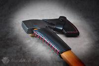 Custom Leather Collar Guard For Gransfors Bruk 418 420 Axe Small Forest Axe