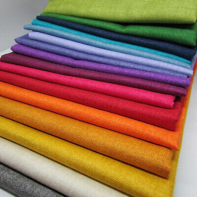 Chambray Linen Texture Cotton Fabric  Fat Quarter Makower