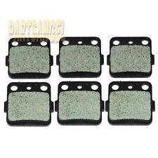 FR R Carbon Kevlar Brake Pads Fourtrax TRX 250 TRX 300 TRX 400 Raptor660 YFM 350