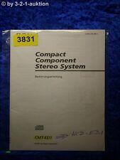 Sony Bedienungsanleitung CMT ED1 /HCD ED1 Component System (#3831)