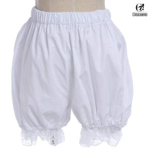 Women Girls Lolita Bloomers Lace Bubble Pumpkin Safety Shorts Underpants Cosplay