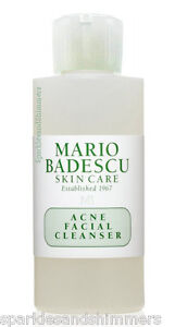 Details About Mario Badescu Acne Facial Cleanser Face Wash 59ml Travel Size Blemishes Spots