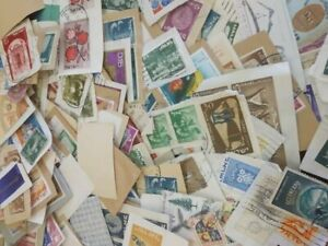 Collections-Used-Scott-a-Lot-Stamps-Paper-Postage-Crease-Lightly-Worldwide