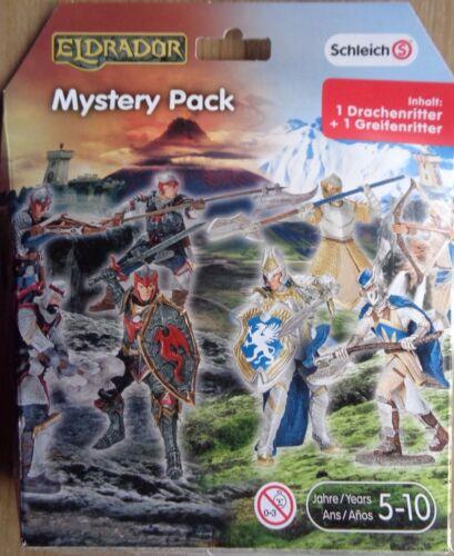 1 recourir Chevalier//Nouveau Neuf dans sa boîte Schleich//eldrador//Mystery Pack 1 dragon chevaliers