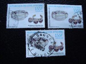 Briefmarke Yvert/tellier Nr Briefmarke Reine WeißE a28 824 X3 Gestempelt Côte D Ivoire