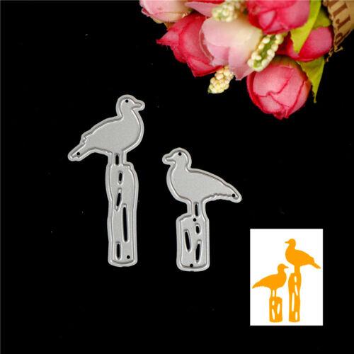 Birds Design Metal Cutting Die For DIY Scrapbooking Album Paper Card Sa BCDE