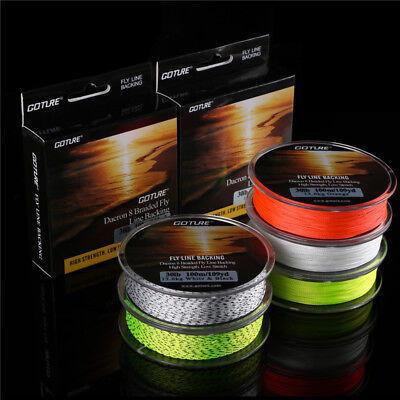 100M//109yds Fly Fishing Line Backing 20LB 8 Strands Dacron Braided Line