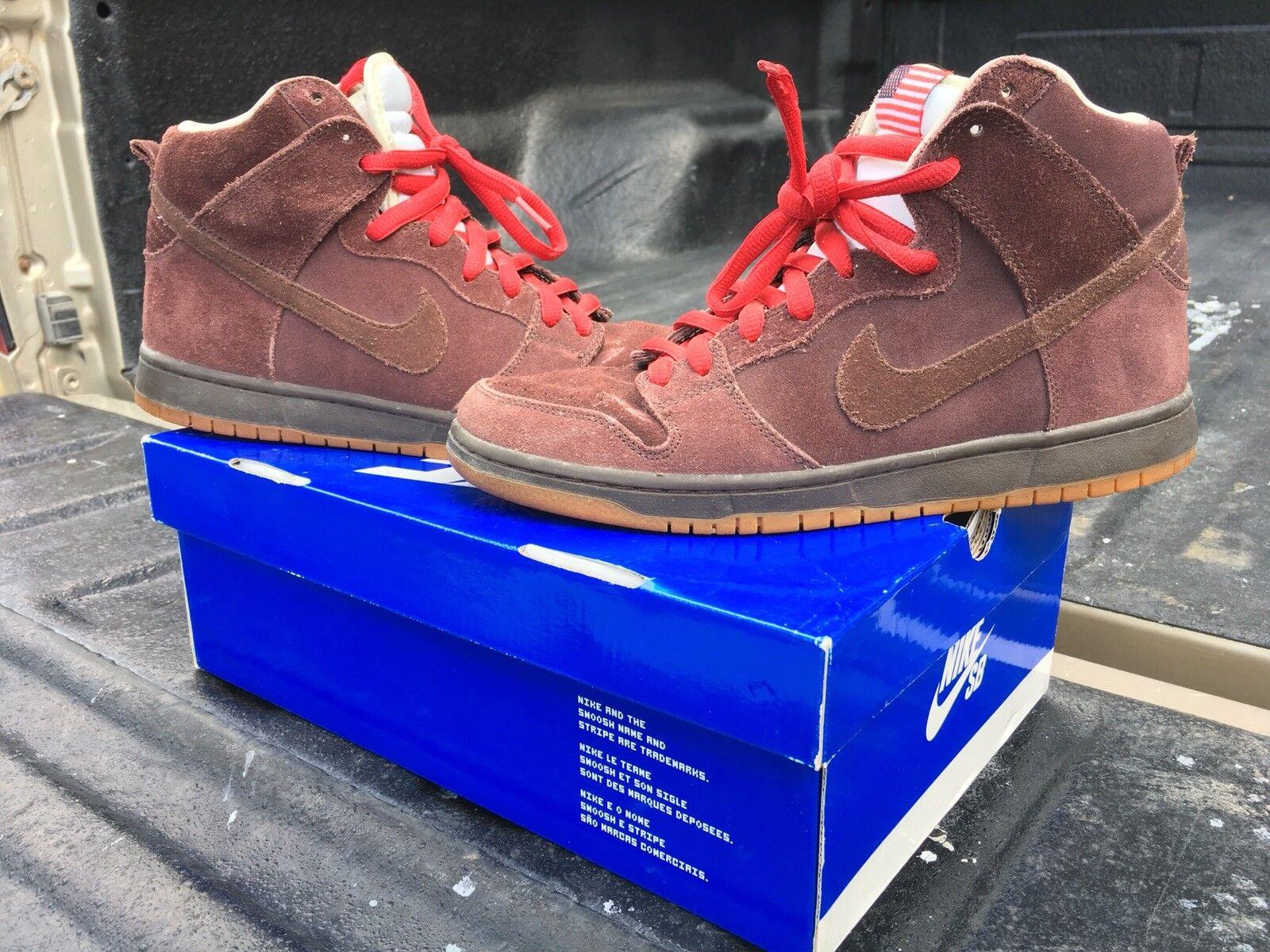 Nike Sb Dunk High Budweiser Size 9.5