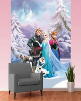 Disney Frozen Wallpaper Mural Sticker - 62x91.5