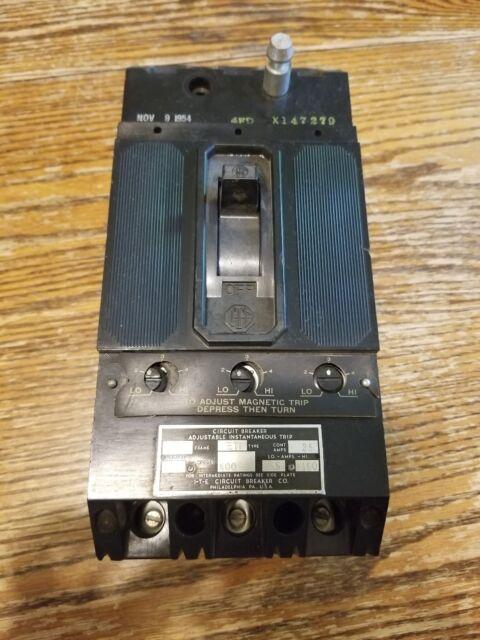 ITE 20A 120V 1P Circuit Breaker ET Frame ET1553 EFIB020